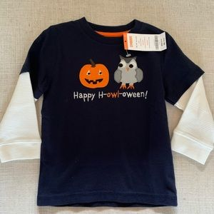 New Gymboree Halloween shirt